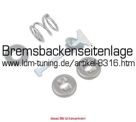 2 Bremsschlauch vorne Wartburg 353 mit Trommelbremse vorne und hinten