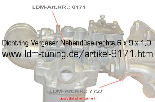 example of carburettor H 362