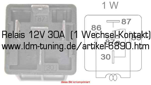 Relais 12v 30a  Changeover Contact  In Trabant 601  U0026gt  Spare Parts  U0026gt  Electrical System