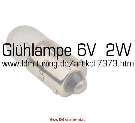 picture of article Bulb 6V  2W