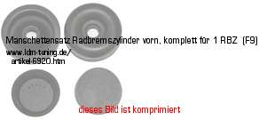 picture of article Ring sleeve for wheel brake cylinder 25mm,  Framo, original