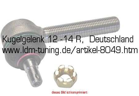 Kugelgelenk 12 -14 R, Deutschland in Kugelgelenke, Zubehör