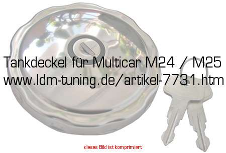 picture of article Fuel tank plug  for Multicar M24 / M25