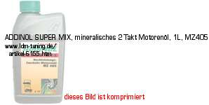 picture of article ADDINOL SUPER 2T, 2-stroke motor oil, MZ405