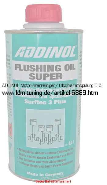ADDINOL Motorinnenreiniger/ Ölschlammspülung 0,5l In Öle