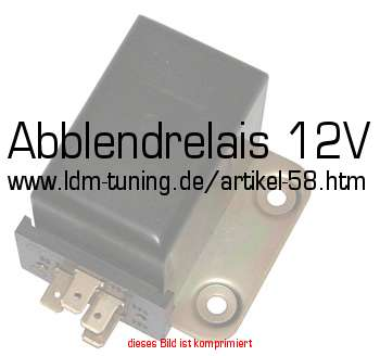 abblendrelais 12v in trabant 601 ersatzteile elektrik. Black Bedroom Furniture Sets. Home Design Ideas