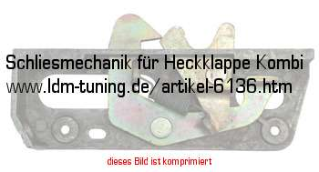 picture of article Lock unit for Rear door ( station wagen )