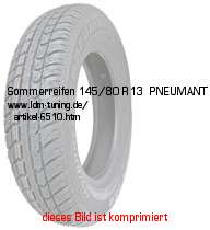 picture of article summer tyre  145/80 R13   PNEUMANT