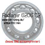 picture of article Wheel bearing 6206 C2