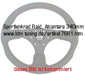 picture of article Tuning steering wheel, Alcantara 340mm