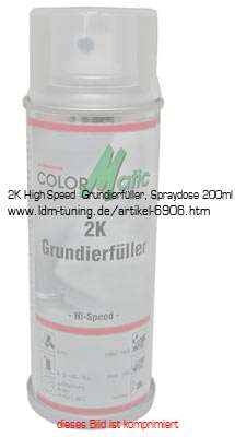 Bild vom Artikel 2K High-Speed  Grundierfüller, Spraydose 200ml