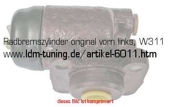 picture of article wheel brake cylinder front axle, left, M22