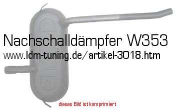 nachschalld mpfer w353 in wartburg 353 ersatzteile auspuff. Black Bedroom Furniture Sets. Home Design Ideas