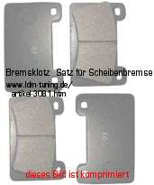 picture of article Brake lining kit for disc brake