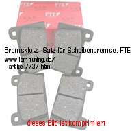 picture of article Brake lining kit for disc brake, FTE