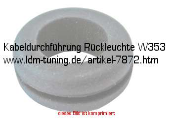 kabeldurchf hrung r ckleuchte w353 in wartburg 353. Black Bedroom Furniture Sets. Home Design Ideas