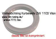 picture of article Sealing ring for crankshaft ZW 1103 Viton